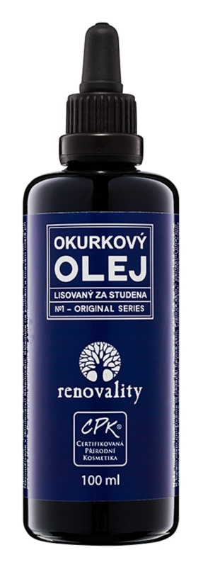 Renovality Original Series олійка з насіння огірка холодного віджиму