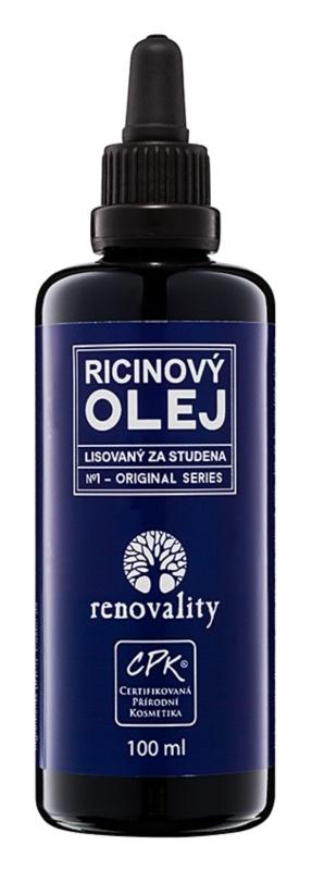 Renovality Original Series ricinový olej lisovaný za studena