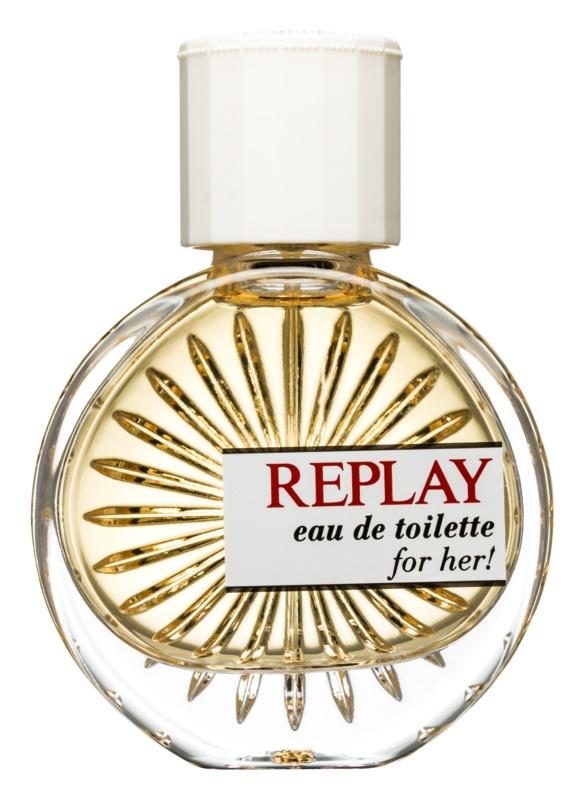Replay for Her Eau de Toilette für Damen 40 ml