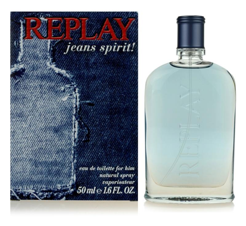 Replay Jeans Spirit! For Him Eau de Toilette for Men 50 ml