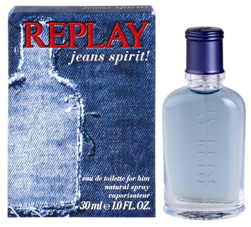 Replay Jeans Spirit! For Him toaletná voda pre mužov 30 ml