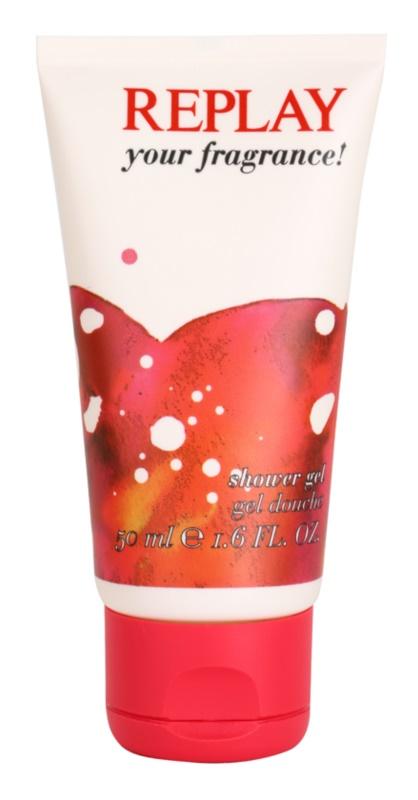 Replay Your Fragrance! For Her żel pod prysznic tester dla kobiet 50 ml