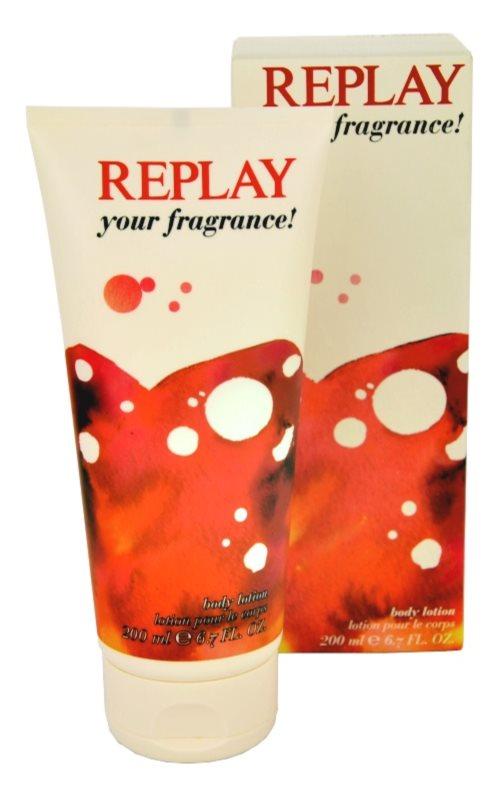 Replay Your Fragrance! For Her lapte de corp pentru femei 200 ml