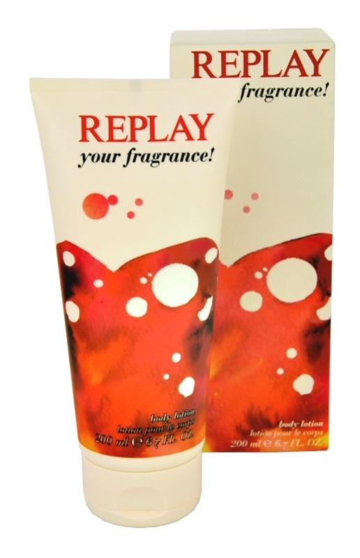 Replay Your Fragrance! For Her testápoló tej nőknek 200 ml