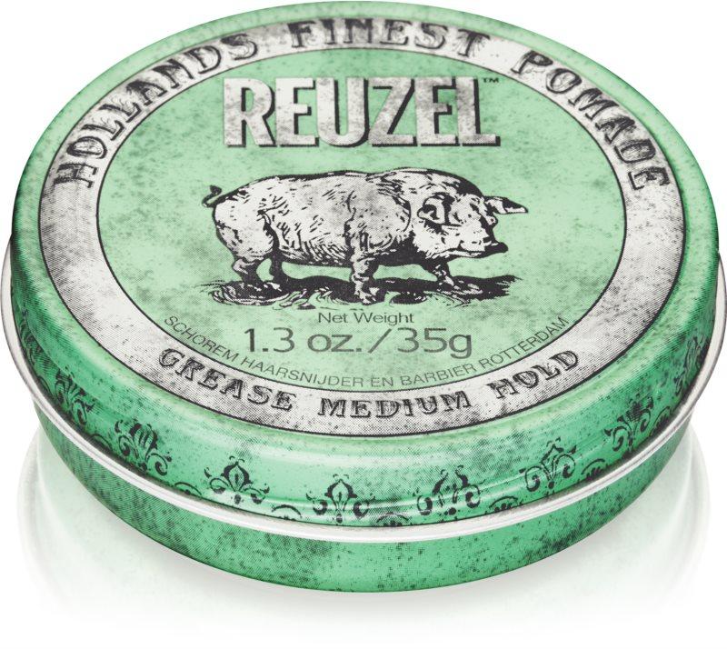 Reuzel Green помада за коса средна фиксация
