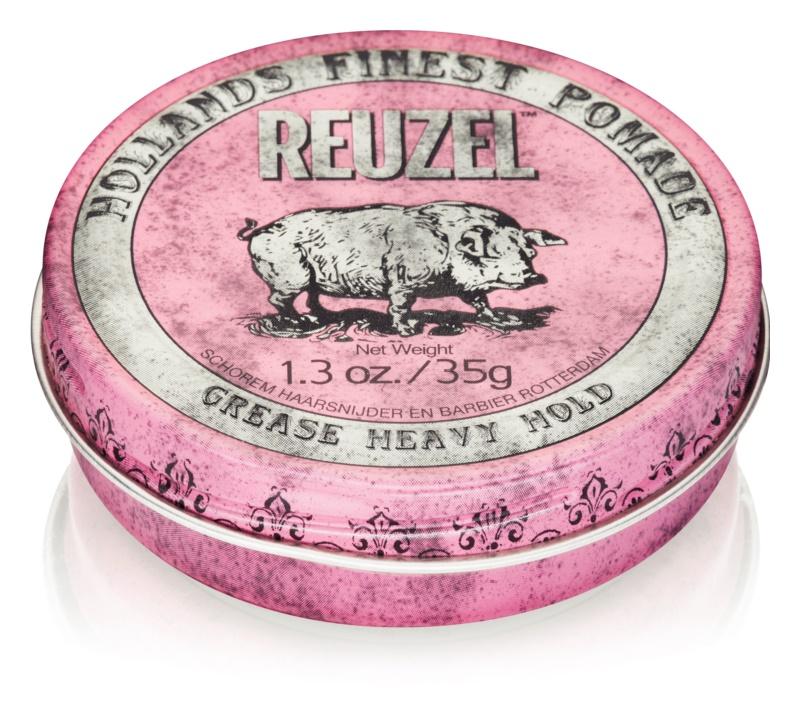 Reuzel Pink помада для волосся сильної фіксації