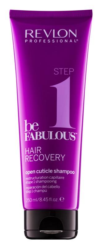 Revlon Professional Be Fabulous Hair Recovery čisticí šampon s efektem otevření vlasové kutikuly