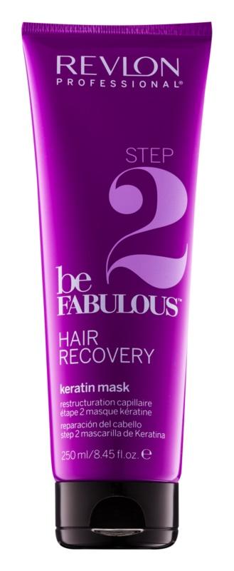Revlon Professional Be Fabulous Hair Recovery maska dogłębnie regenerująca z keratyną