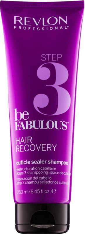 Revlon Professional Be Fabulous Hair Recovery шампоан с ефект на затваряне на косъма за удължаване резултата от регенерираща маска