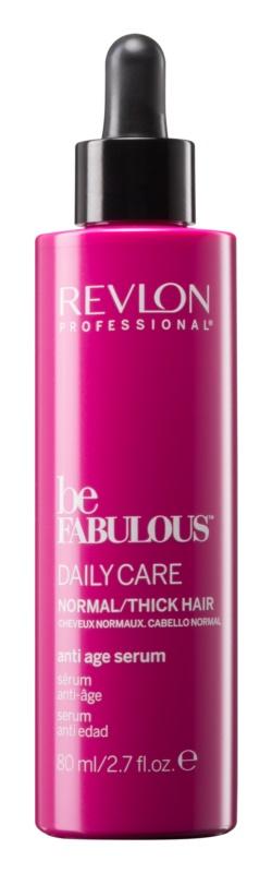 Revlon Professional Be Fabulous Daily Care nawilżające i rozjaśniające serum przeciw objawom starzeniu się włosów