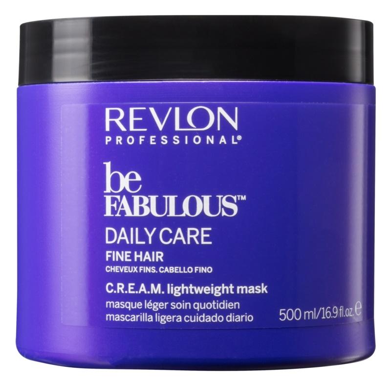 Revlon Professional Be Fabulous Daily Care regeneracijska in vlažilna maska za tanke lase