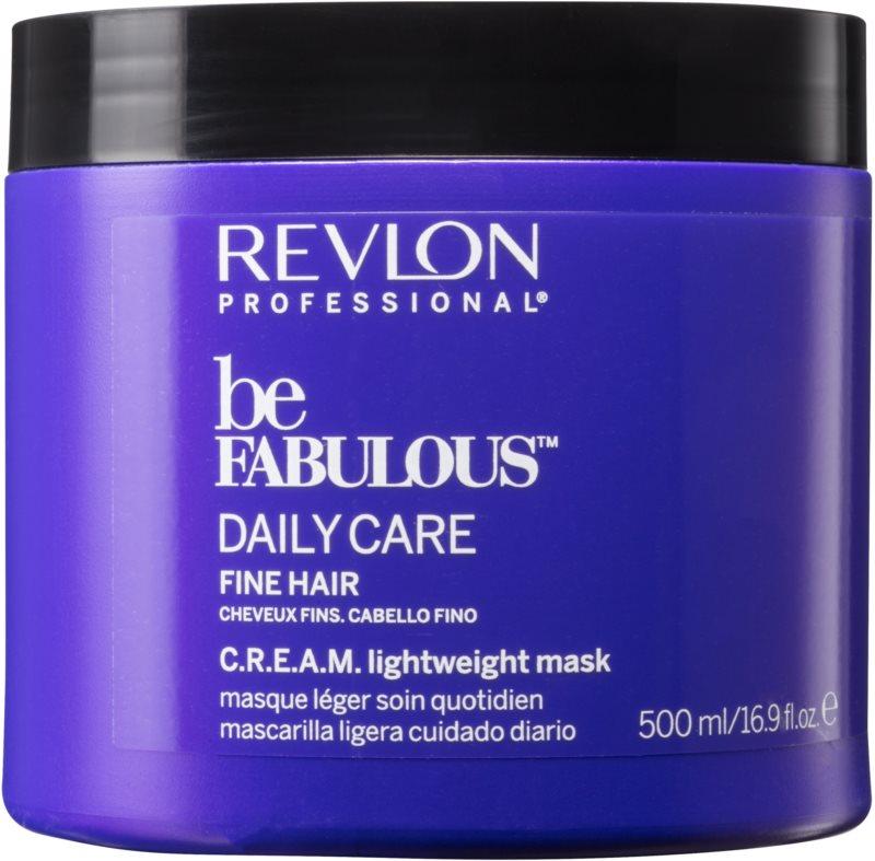 Revlon Professional Be Fabulous Daily Care regenerační a hydratační maska pro jemné vlasy