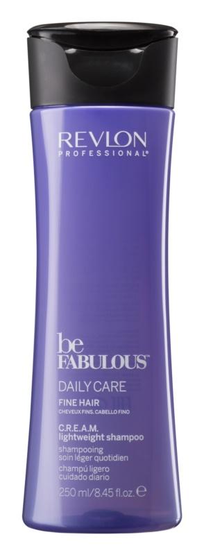 Revlon Professional Be Fabulous Daily Care šampon pro objem jemných vlasů