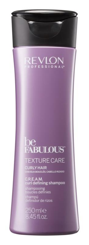 Revlon Professional Be Fabulous Texture Care хидратиращ шампоан за дефиниране на вълни
