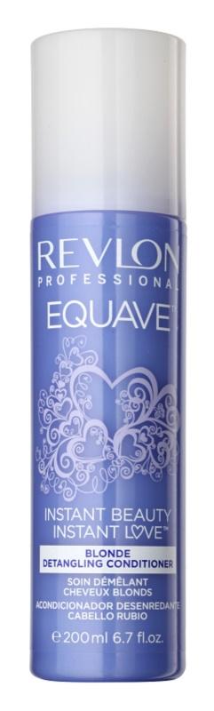 Revlon Professional Equave Blonde balzam brez spiranja v pršilu za blond lase