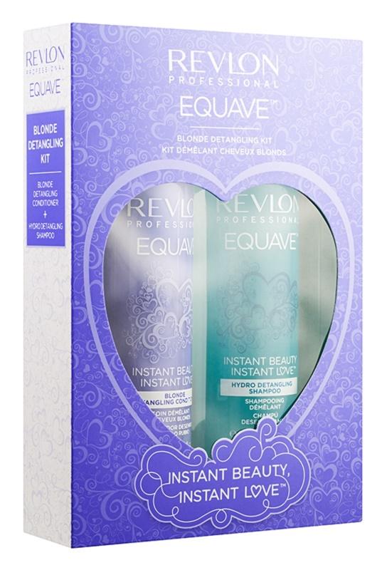 Revlon Professional Equave Blonde zestaw kosmetyków I.