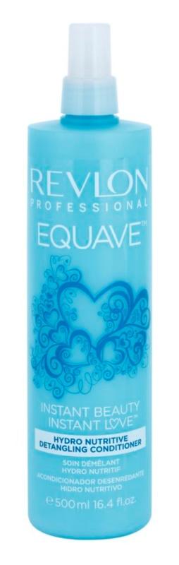 Revlon Professional Equave Hydro Nutritive acondicionador sin aclarado para cabello seco