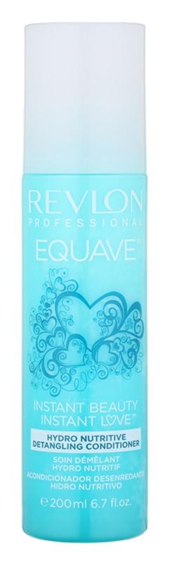Revlon Professional Equave Hydro Nutritive bezoplachový hydratačný kondicionér v spreji