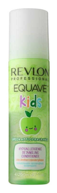 Revlon Professional Equave Kids hypoalergénny bezoplachový kondicionér pre jednoduché rozčesávanie vlasov