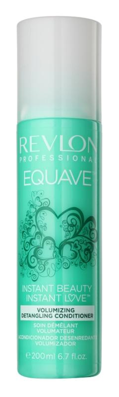 Revlon Professional Equave Volumizing condicionador sem enxaguar em spray para cabelo fino