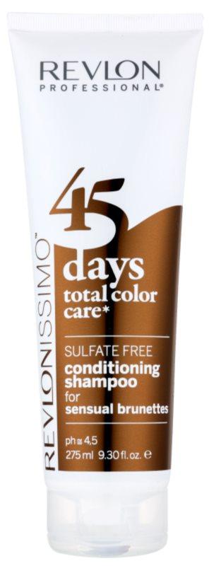 Revlon Professional Revlonissimo Color Care šampón a kondicionér 2 v1 pre hnedé odtiene vlasov