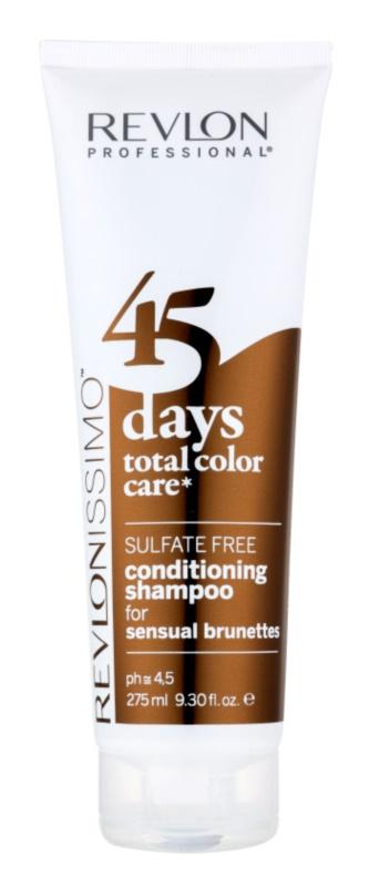 Revlon Professional Revlonissimo Color Care szampon z odżywką 2 w1 do włosów w odcieniach brązu