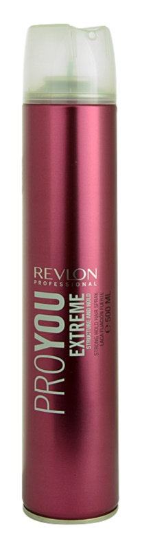 Revlon Professional Pro You Extreme lak na vlasy silné spevnenie