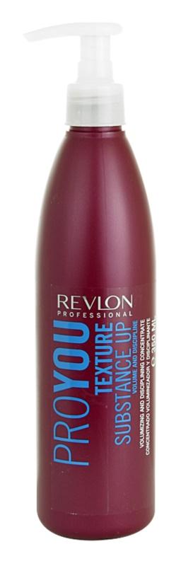 Revlon Professional Pro You Texture das Stylingkonzentrat für mehr Volumen
