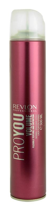 Revlon Professional Pro You Volume lak na vlasy pre normálne spevnenie