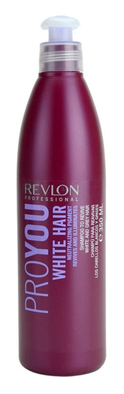 Revlon Professional Pro You White Hair šampón pre blond a šedivé vlasy