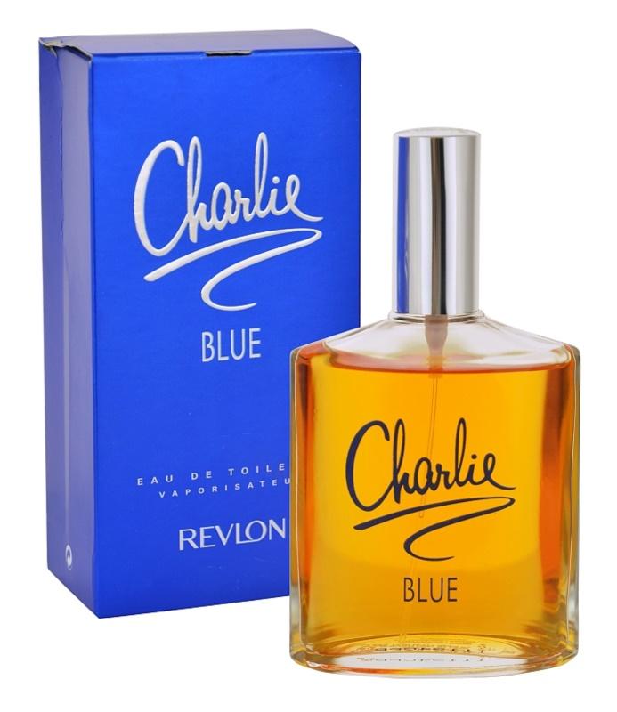 Revlon Charlie Blue Eau de Toilette Damen 100 ml