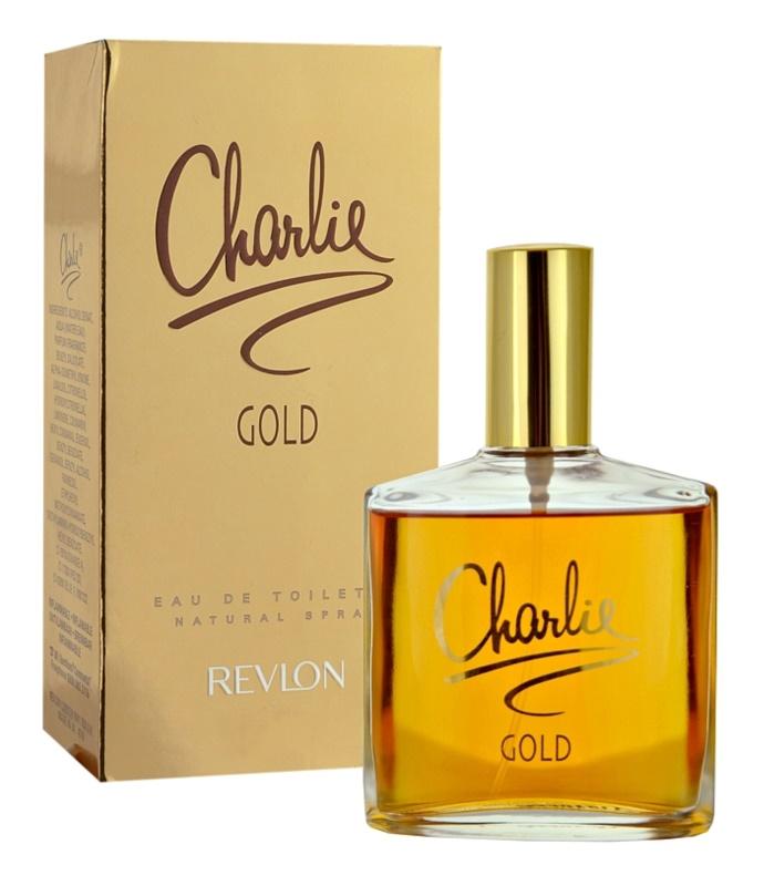 Revlon Charlie Gold Eau de Toilette for Women 100 ml
