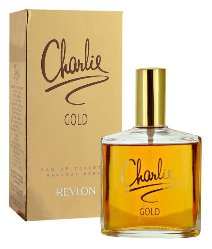 Revlon Charlie Gold eau de toilette nőknek 100 ml