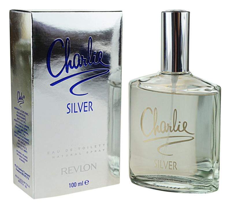 Revlon Charlie Silver eau de toilette pentru femei 100 ml