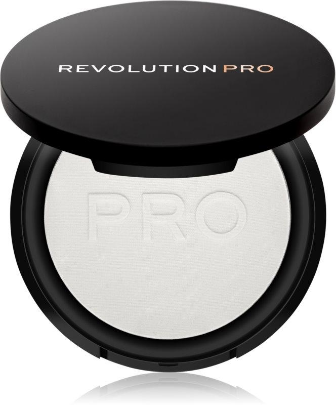 Revolution PRO Pressed Finishing Powder transparentný kompaktný púder
