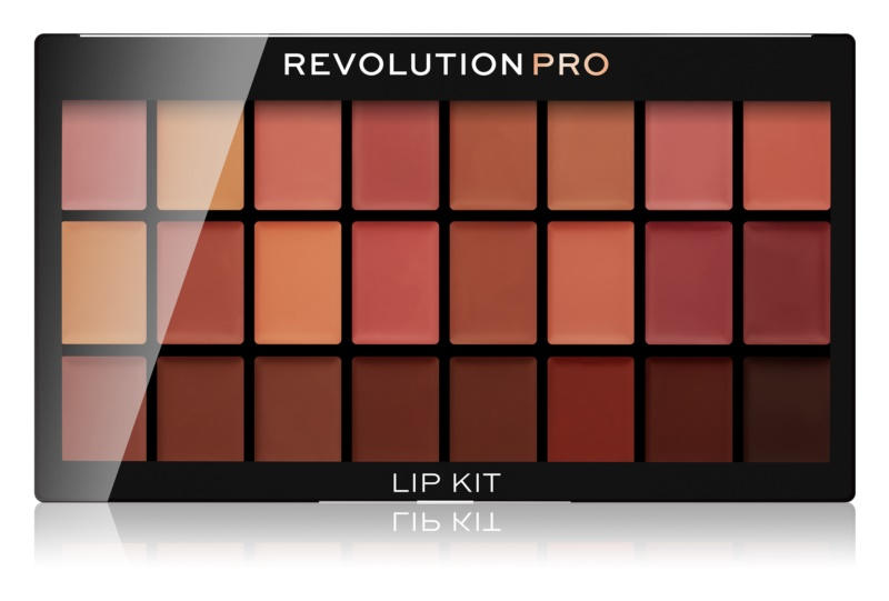 Revolution PRO Lip Kit paleta rúžov