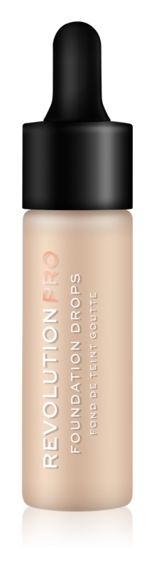 Revolution PRO Foundation Drops tekutý make-up s pipetou