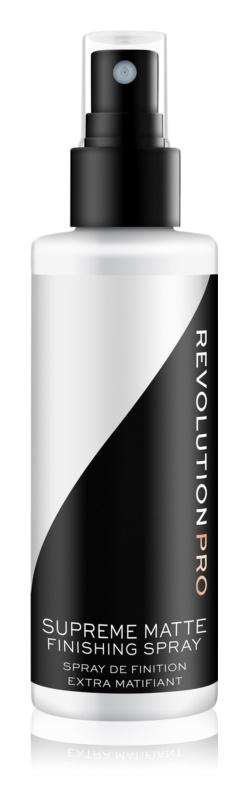 Revolution PRO Supreme matirajoče pršilo za fiksiranje make-upa