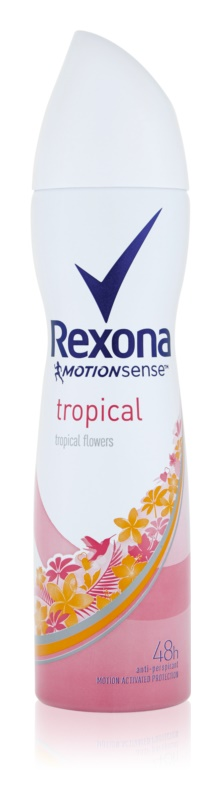 Rexona Fragrance Tropical antiperspirant v spreji 48h