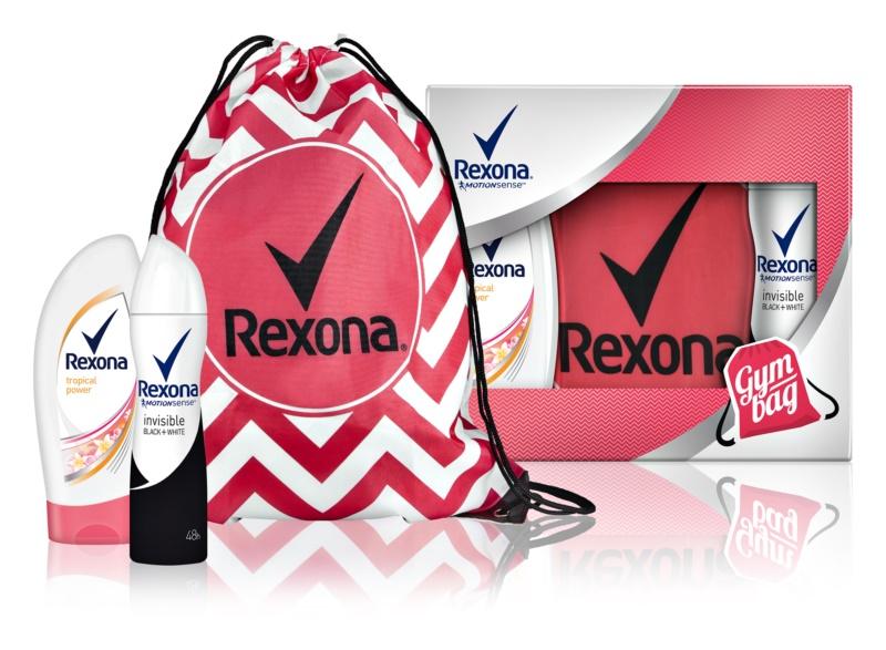 Rexona Invisible Black and White Cosmetic Set I.