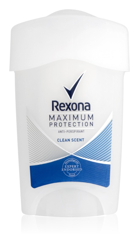 Rexona Maximum Protection Clean Scent antitranspirante cremoso 48 h
