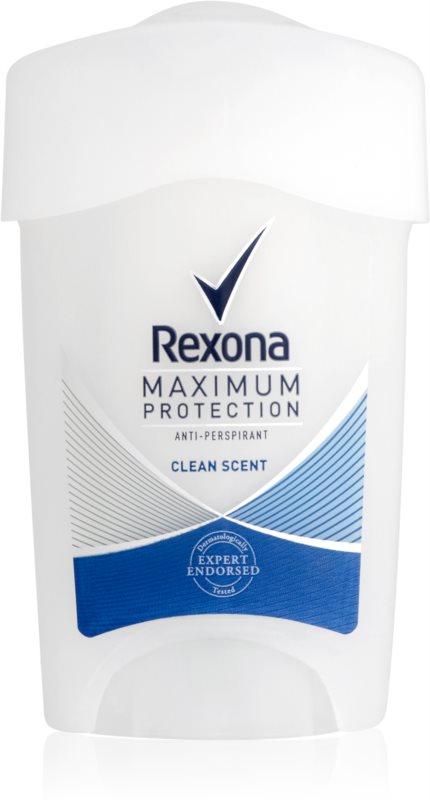 Rexona Maximum Protection Clean Scent kremasti antiperspirant 48 ur