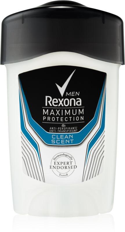 Rexona Maximum Protection Clean Scent Antitranspirant-Creme