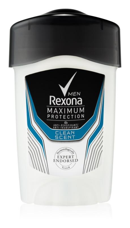 Rexona Maximum Protection Clean Scent antitranspirante cremoso