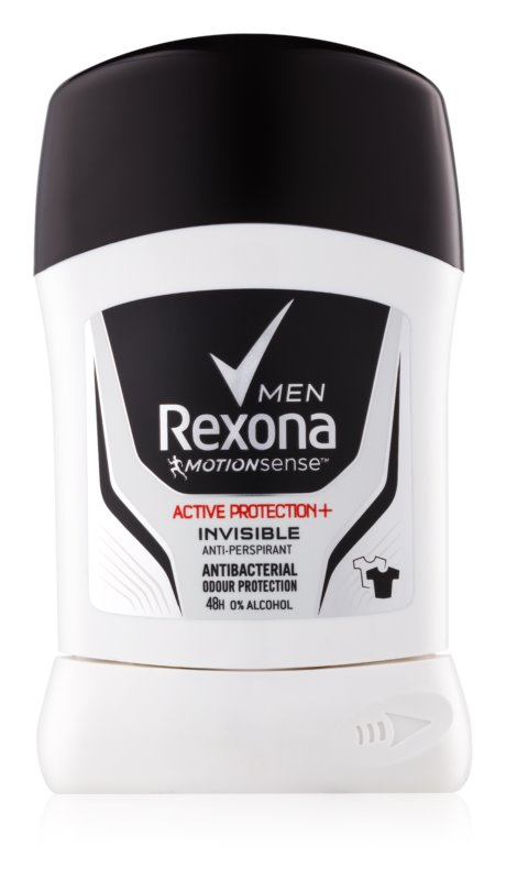 Rexona Active Protection+ Invisible tuhý antiperspitant pre mužov