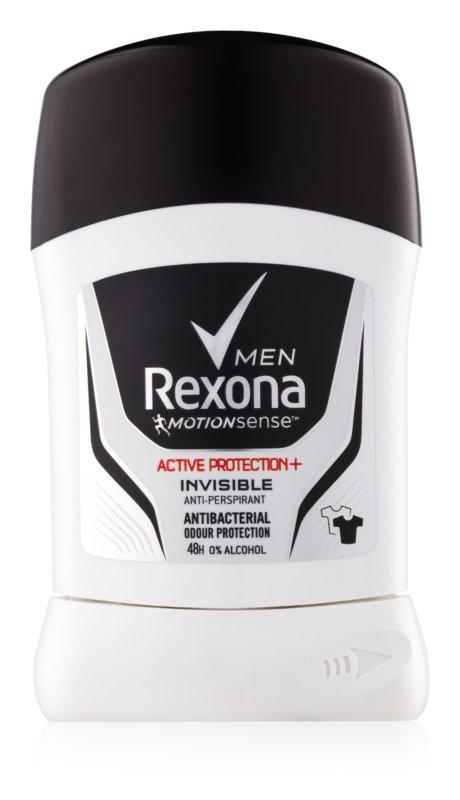 Rexona Active Protection+ Invisible твердий антиперспірант для чоловіків