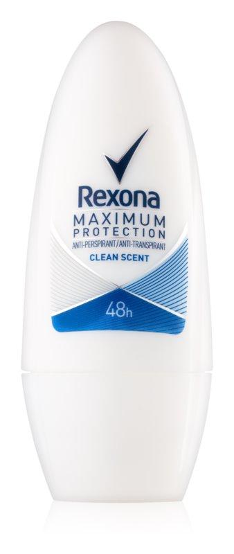 Rexona Maximum Protection Clean Scent кульковий антиперспірант 48 годин