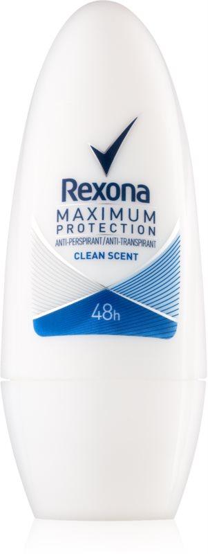 Rexona Maximum Protection Clean Scent guličkový antiperspirant 48h