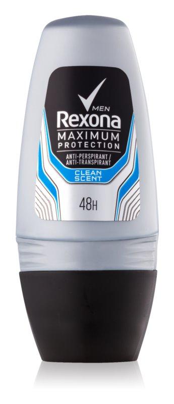 Rexona Maximum Protection Clean Scent anti-transpirant roll-on za moške