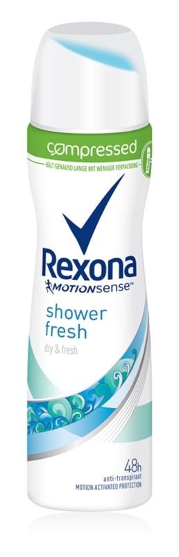 Rexona Shower Fresh spray anti-perspirant